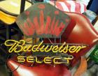 "Budweiser Select Neon Electric Bar Sign, Approx 18"" x 28"