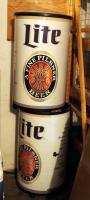 "Miller Lite Beer Insulated Cooler Displays, 34"" Tall, Qty 2"