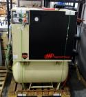 Ingersoll Rand Rotary Screw Compressor, Model # UP6-15C-125, Serial # CBU247878, 3-Phase