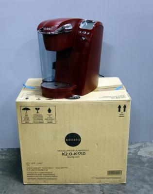 Keurig Coffee Maker Model K550, With Box, Carafe Included