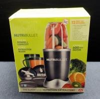 Nutribullet Nutrition Extractor, Smoothie Blender, As Seen On TV, Vitality Super Boost Protein Supplement, Qty 11 Boxes, Includes Travel Bag