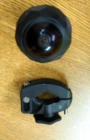 360 Fly Digital Camera Model#360FLYBLK With Mounting Anchor And Case