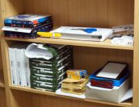 Office Supply Assortment Including Copy Paper, Envelopes, Royal FC53 Paper Cutter, Adhesive Labels, Stapler, Paper Clips And More