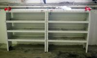 "Metal Storage Shelf 48"" x 42"" x 16"", Qty 2, Bidder Responsible For Proper Removal"