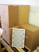 "Best Air Pro HVAC Air Filters 16""x 25"" x 2"", M8, Qty 60, Contents Of Pallet, Pallet Not Included"