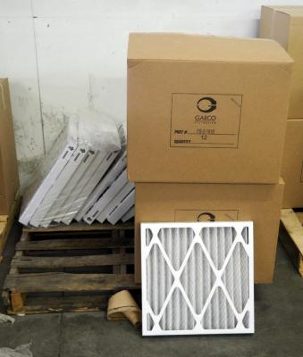 "Best Air Pro HVAC Air Filters 18"" x 18"" x 2"", M8 Qty 22, And 19""x 20"" x 2 Qty 11, 18"" x 24"" x 2"" , M8,Qty 4, Contents Of Pallet,Pallet Not Included"