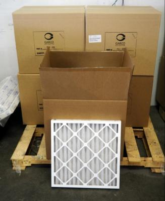"Best Air Pro HVAC Air Filters 20"" x 20"" x 2"", M8, Qty 57, Contents Of Pallet, Pallet Not Included"