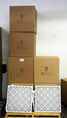 "Best Air Pro HVAC Air Filters 24"" x 24"" x 2"", Qty 6 Cases Plus 4 Loose Totaling 76, Contents Of Pallet. Pallet Not Included"