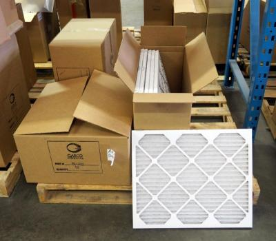 "Best Air Pro HVAC Air Filters 20"" x 20"" x 1"" Qty 23 And 20"" x 24"" x 1"" Qty 6, Contents Of Pallet, Pallet Not Included"