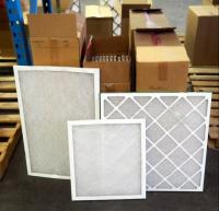 "Best Air Pro HVAC Air Filters 20"" x 30"" x 1"" Qty 12 & 18""x 20"" x 1"" Qty 11 & 25"" x 25"" x 1"" Qty 20, Contents of Pallet, Pallet Not Included"