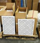 "Best Air Pro HVAC Air Filters 17"" x 20"" x 1"" Qty 24, 14"" x 22"" x 1"" Qty 12, Contents Of Pallet, Pallet Not Included"