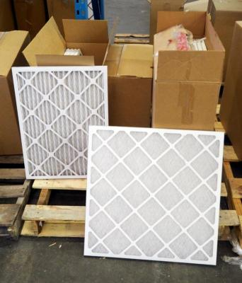 "Best Air Pro HVAC Air Filters 18"" x 24"" x 1"" Qty 5, 24"" x 24"" x 1"" Qty 12, 18"" x 18"" x 1"" Qty 12, Contents Of Pallet, Pallet Not Included"