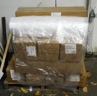 "United Parcel 28"" x 24"" Plastic Shipping Bags On Rolls, Qty 12, Contents Of Pallet, Pallet Not Included"