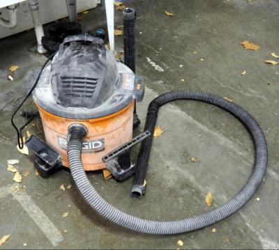 Ridgid 9 Gallon Wet Dry Vac Model #WD09701