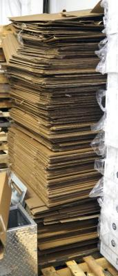 Salvage Corrugated Boxes Approx Qty 125