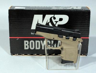 M&P By Smith & Wesson Bodyguard 380 .380 Auto Semi Automatic Pistol, SN# KFC3234, With Soft Case and Box