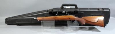Remington Model 700 .270 Winchester Bolt Action Rifle SN# C6574256 With Redfield 3 x 9 Tracker Scope And Hard Case