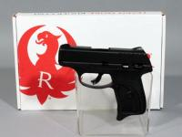 Ruger EC9S 9mm Luger Semi Automatic Pistol, SN# 454-64514, With Box and Paperwork