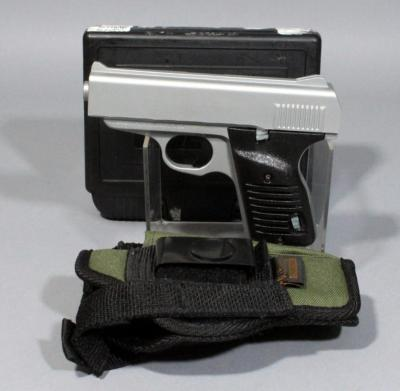 Cobra Enterprises of Utah Inc. FS380 .380 Cal Semi-Automatic Pistol SN# FS079102 With Holster And Extra Magazine