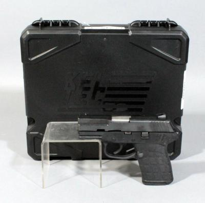 Kel-Tec PF-9 9MM Luger Semi Automatic Pistol, SN# RR0091, With Case and Paperwork