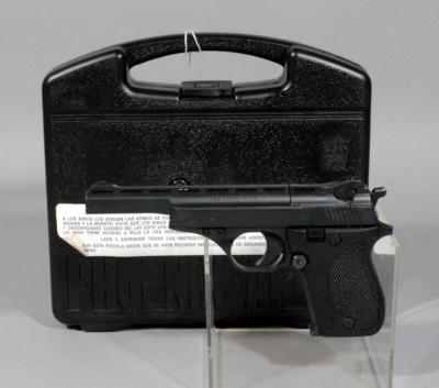 Phoenix Arms Model HP22A .22LR Semi Automatic Pistol, SN# 4531495, With Case, Magazine and Paperwork