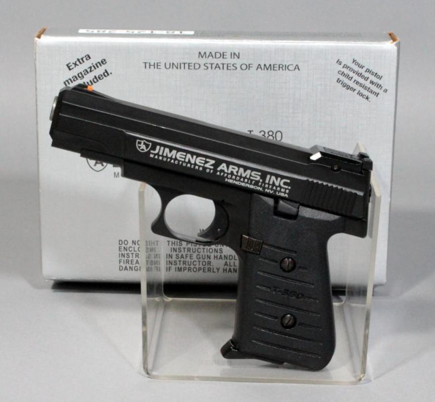 Jimenez Arms J A  T-380  380 Auto Semi Automatic Pistol, SN# 430753
