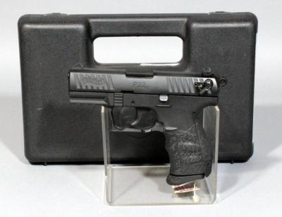 Walther P22 .22 LR Semi Automatic Pistol, SN# WA048280, With Box and Paperwork