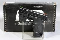 Smith & Wesson M & P 9 Shield Performance Center 9MM Semi-Automatic Pistol SN# LET6835 With Box And Paperwork