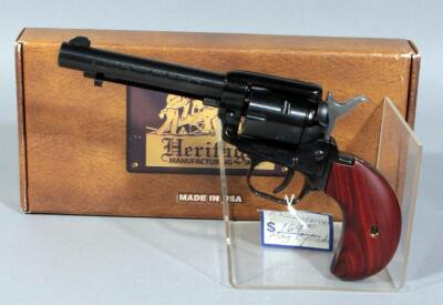 Heritage Mfg RR22MB4BH .22 LR and Mag, 6-Shot Revolver, SN# Y23547, With Box, Paperwork and Extra Cylinder