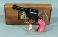 Heritage Mfg RR22MB2BHHPNK Rough Rider .22LR and Mag 6-Shot Revolver, SN# Y53884, With Box, Paperwork and Extra Cylinder