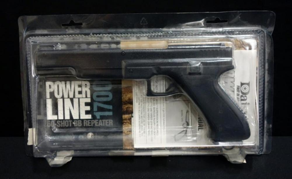Daisy Powerline 1700 60-Shot BB Repeater CO2 Pistol With Manual and