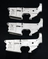 Red Tail Model RTM-15 Cerakote Billet Stripped Lower Receivers SN# 01003, 01004, 01005, Total Quantity 3