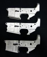 SMI Model SMI-15 AR15 7075-T6 Cerakote Aluminum Stripped Lower Receivers SN# SMI-A00124 , SMI-A00151 And SMI-B00773, Total Qty 3